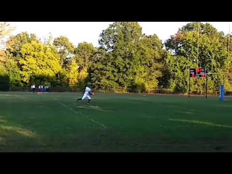Major Weathers Football JT Williams Middle School Blended 2017 vs Albemarle Road Middle School