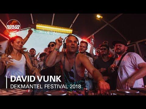David Vunk | Boiler Room x Dekmantel Festival 2018