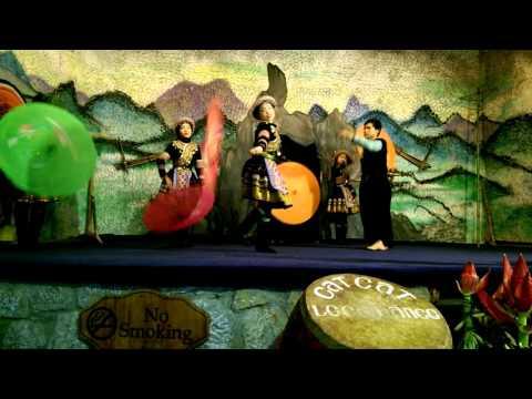 Điệu múa của các cô gái dân tộc miền núi Tây Bắc
