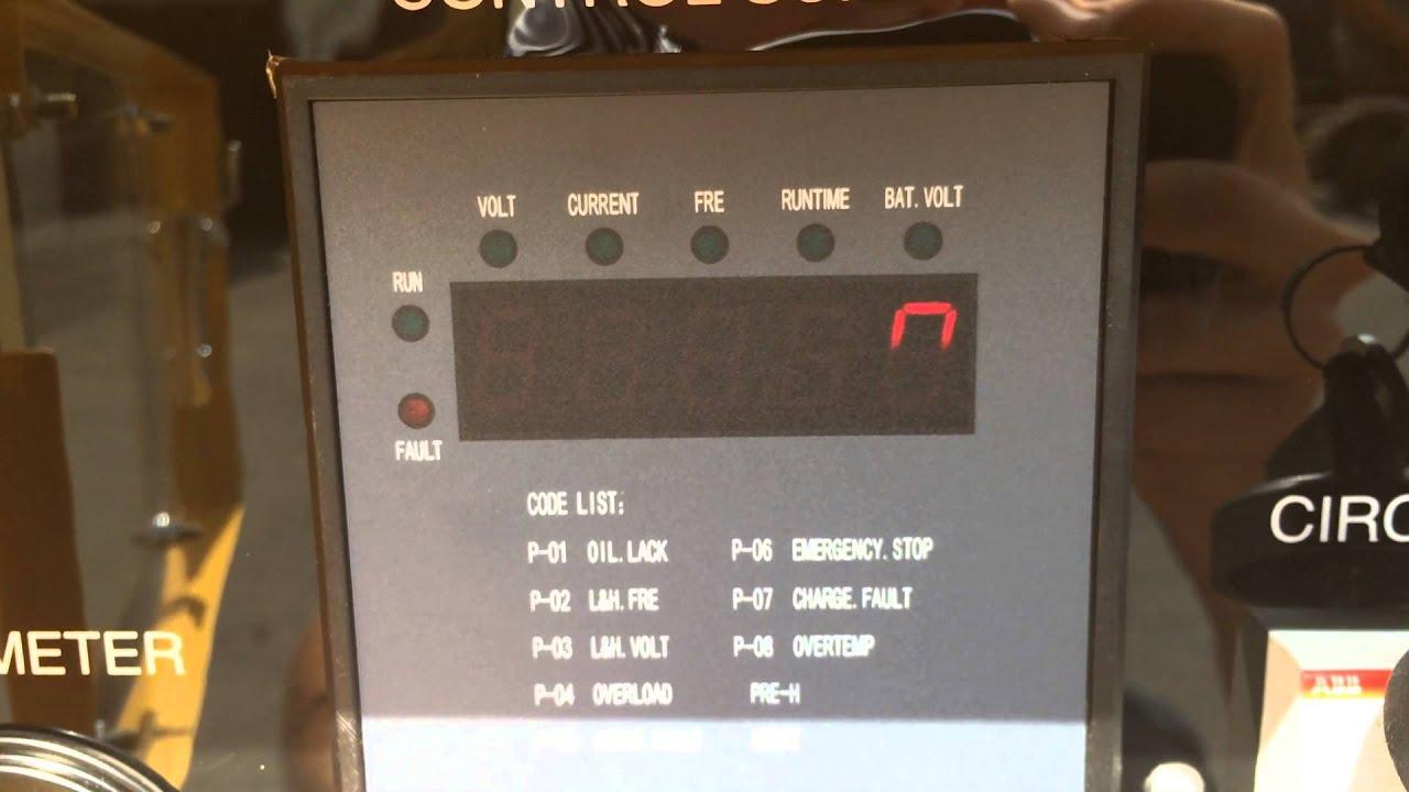 Kde12sta Kipor Generator Wiring Diagram Atlas Copco Dpx Power Kde19sta3 Set 10309 Youtube Kohler Starter