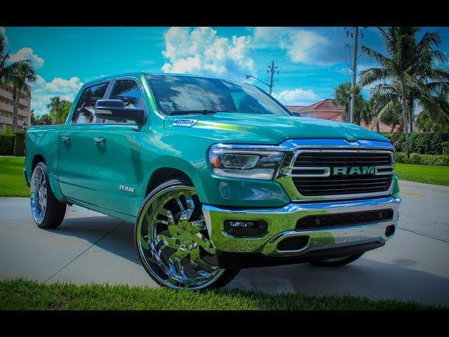 2019 Dodge Ram On 30inch DUB Wheels