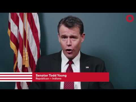 Senator Todd Young (R-IN)   Global Citizen Festival NYC 2017