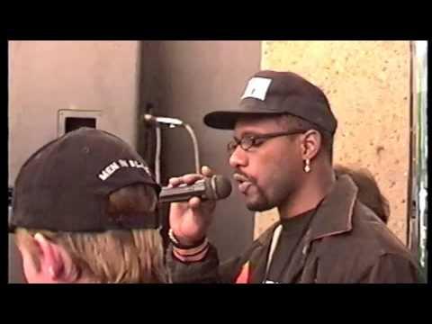 DJ Stephen Ferris & MC Rodney Overby @ 'Men In Black' launch 97