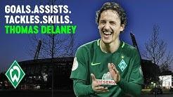 Best of Thomas Delaney: Goals, Assists, Tackles & Skills | SV Werder Bremen