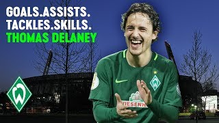 AMAZING Goals, Assists, Tackles & Skills of Thomas Delaney | SV Werder Bremen