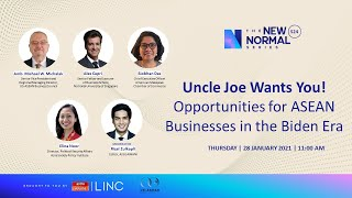 Uncle Joe Wants You! Opportunities for ASEAN Businesses in the Biden Era