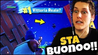 FORTNITE ITA : MY FIRST TIME ON PS4 Let's get the real 💪