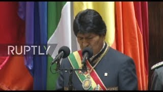 Bolivia: 'Strongest state in the region' - Morales reviews Bolivia