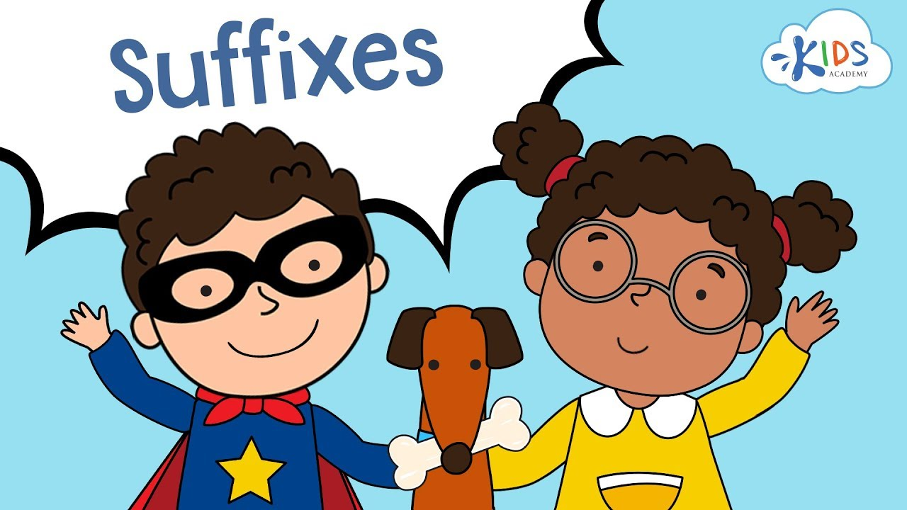 Download Suffixes ful, less, ly, able   English Grammar for Grade 2   Kids Academy