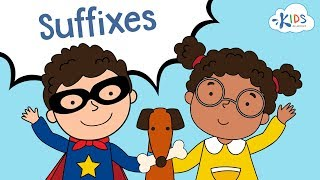 Suffixes ful, less, ly, able | English Grammar for Grade 2 | Kids Academy