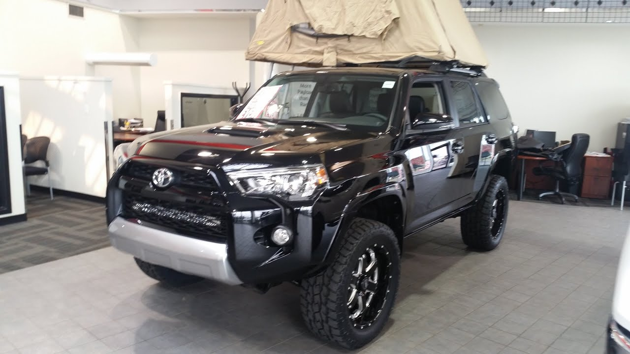 2015 Toyota 4runner Trail Edition With A Lift Kit And Bmf Rims With Toyo Open Country At S Youtube