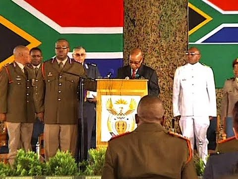 President Jacob Zuma's address at SANDF soldiers memorial