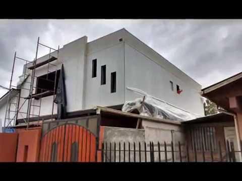 Construccion segundo piso mediterraneo youtube for Modelos de casa para segundo piso