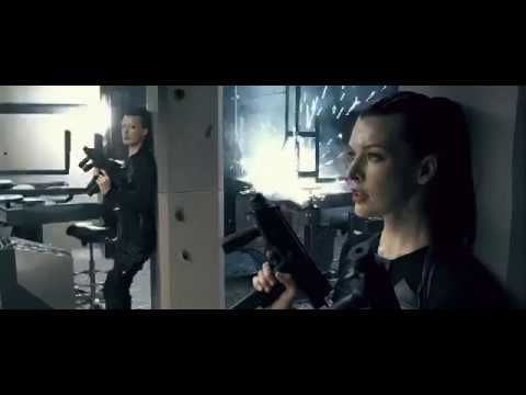 Resident Evil Afterlife Alice Clone Fighting Scene Youtube