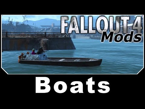 Fallout 4 Mods - Driveables of the Commonwealth - Boats