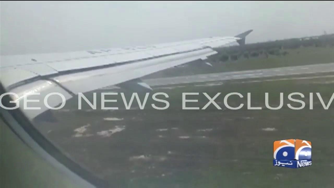 PIA Plane Crash: Take Off Video