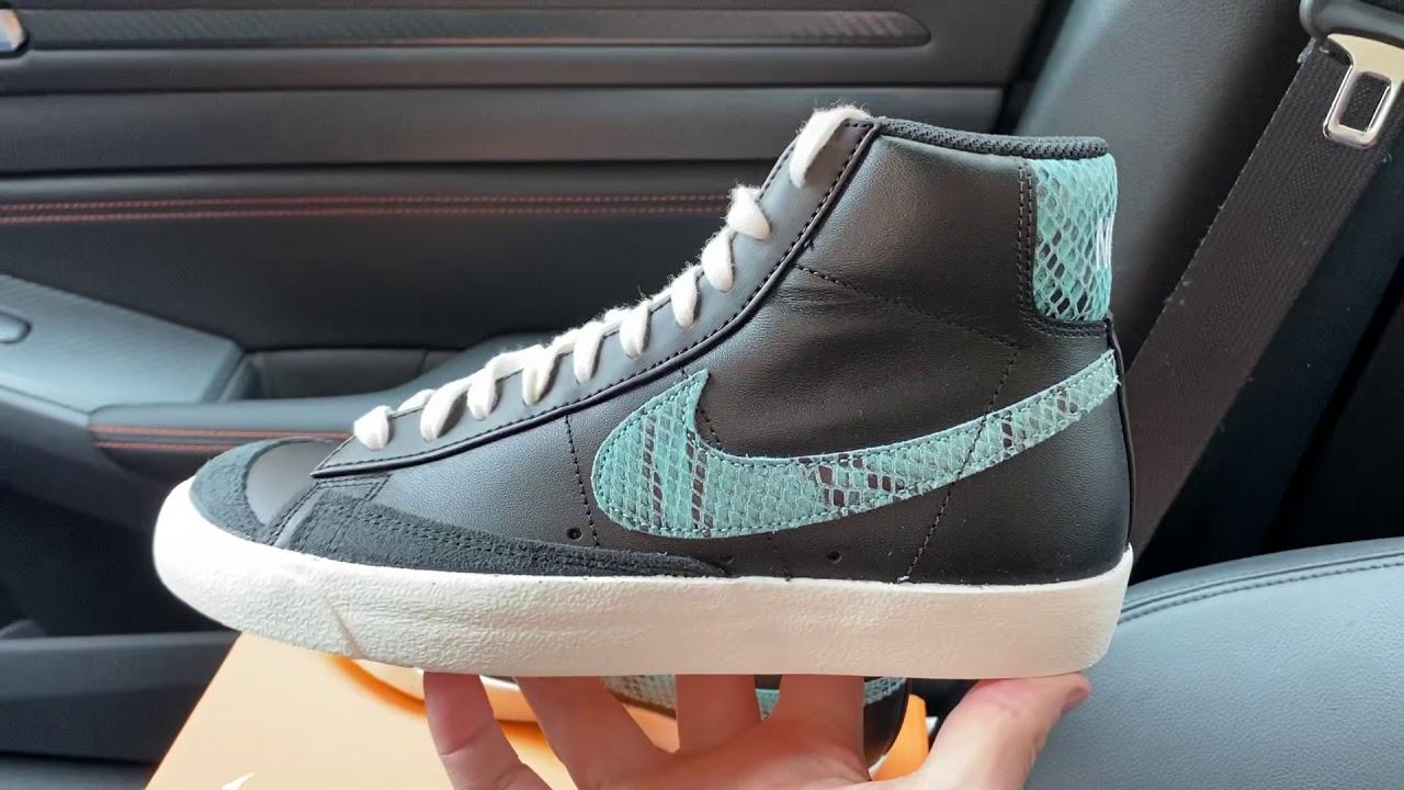 Nike Blazer Mid 77 Vintage Reptile Snakeskin shoes