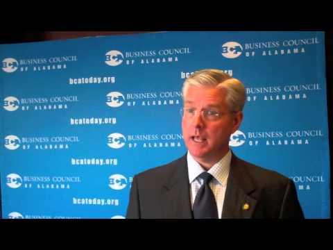 Sen. Greg Reed on Alabama's health exchange