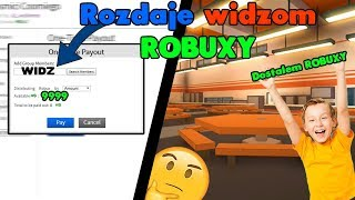 I gave viewers 1.000 robux * FREE * Roblox PL