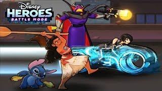 СУПЕРГЕРОИ ДИСНЕЯ В ОДНОЙ ИГРЕ #13 игра прохождение мультик на андроид Disney Heroes Battle Mode