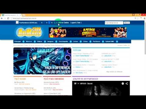 Como Baixar Musicas de Animes (Op e Ed)