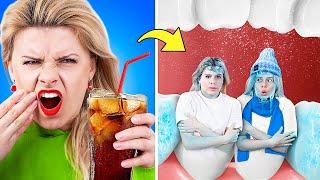 Девушка Пепси vs девушка Кола! Если бы напитки были людьми!