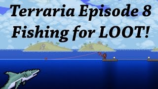 Terraria Ranger 8 - Fishing & Questing - PC.