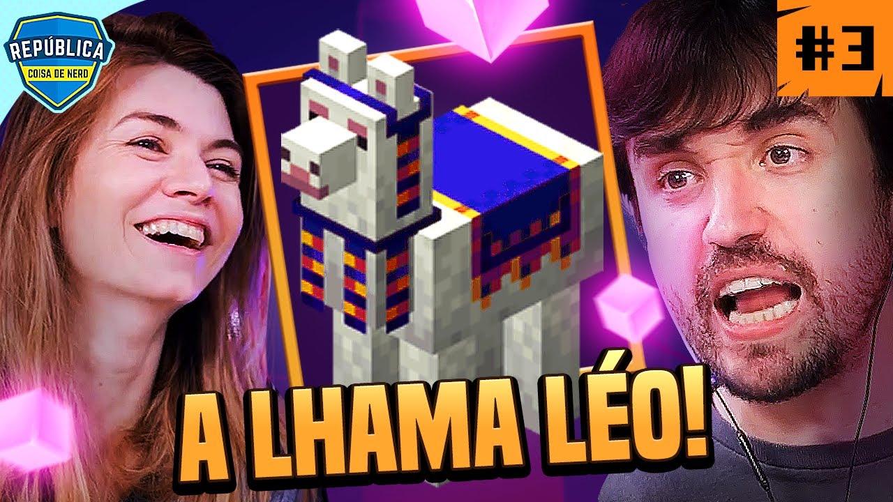 LÉO, A LHAMA (talvez a mais burra do mundo) - Minecraft Dungeons #3