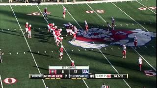 Fresno State Football vs New Mexico: Broadcast highlight
