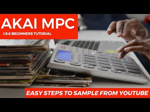 MPC Studio 1.9.5 Beginner's Tutorial: EASY STEPS to Sample from Youtube