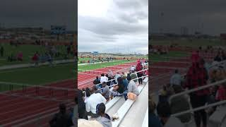 Hollis Wins Heat And Gets Silver Medal In Katy ISD District Track Meet 4 6 2018