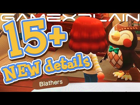 15+ NEW Animal Crossing: New Horizons Details We Just Learned! GCN Camera, Museum Lab, & More!
