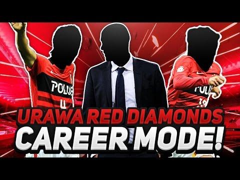 Fifa 17 Urawa Red Diamonds Career Mode #1 Youth Debut