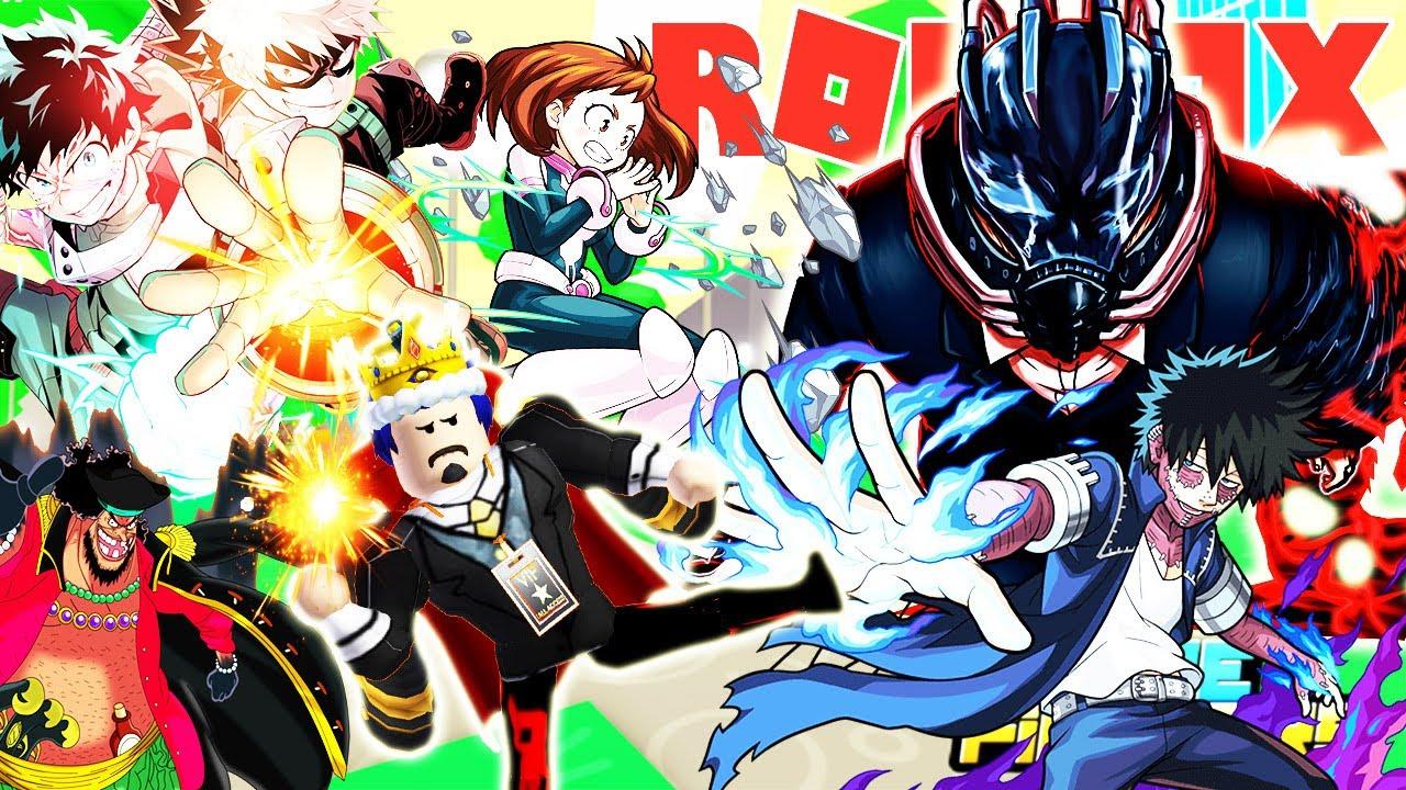 Roblox- UPDATE KHU VỰC MỚI MY HERO ACADEMIA MỞ RA ANH HÙNG CỰC MẠNH -(CODE) Anime Fighters Simulator