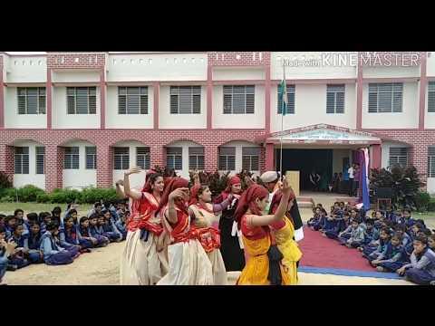 Rajkiya Inter College taila dance video MERI Bamani