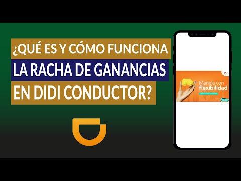 ¿Qué es y Cómo Funciona la Recompensa Racha de Ganancias de DIDI Conductor?