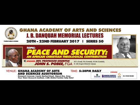 DAY 2 - J.B. Danquah Memorial Lectures (Series 50) [LIVE STREAM]