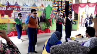 Tarian Mas Mona, Pendidikan Khas,SK Tunku Munawir