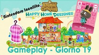 Gameplay Animal Crossing Happy Home Designer - Giorno 19