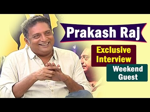 Prakash Raj Exclusive Interview || Weekend Guest || NTV