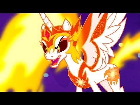 celestia-battles-day-breaker-and-nightmare-moon---mlp-fim---a-royal-problem