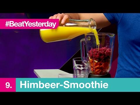 Beat Yesterday #009 | Beim Mixen erwischt: Himbeer-Smoothie zum selber machen