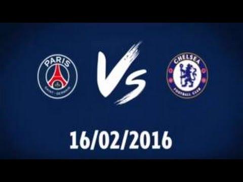 All Goal & Highligth Paris SG Vs Chelsea 2-1 ( Zlatan Ibrahimovic  .obi mikel cavani)HD 16/02/2016