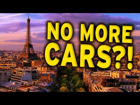 Paris Bans Cars!