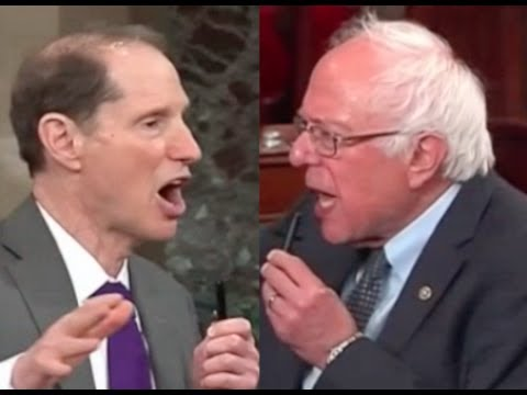 Bernie Sanders & Ron Wyden DESTROY TRUMPCARE in a Fiery Discussion on the Senate Floor