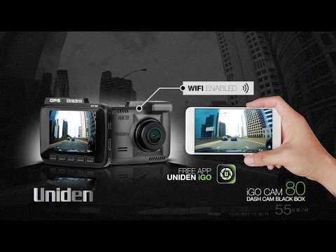 Uniden - IGO CAM 80 - Smart Dash Cam
