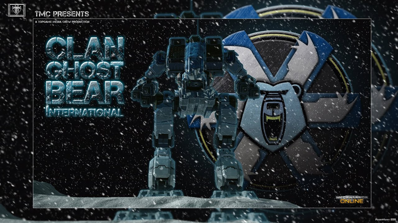 mechwarrior online machinima clan ghost bear