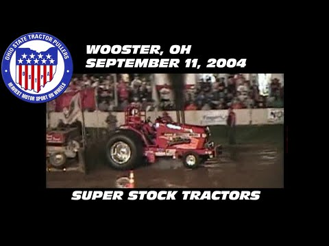 9/11/04 OSTPA Wooster, OH Super Stock Tractors
