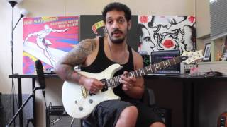 How to play 'Beast And The Harlot' by Avenged Sevenfold Guitar Solo Lesson w/tabs