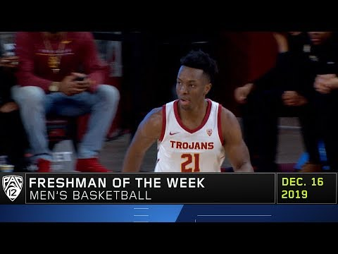 Trojans' Onyeka Okongwu wins second Pac-12 Freshman of the Week award